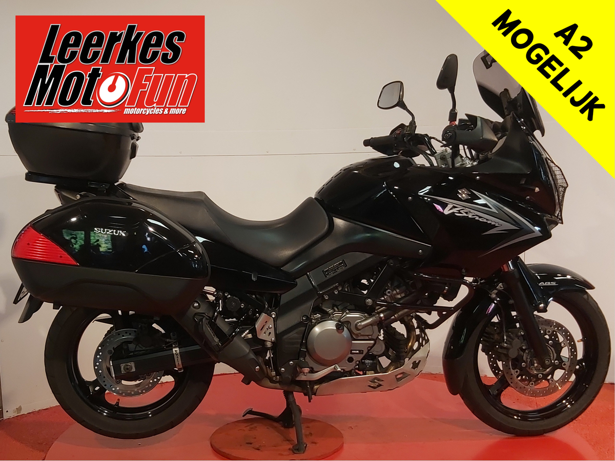 SUZUKI V-STROM DL 650 ABS BLACK RHINO occasion voor de beste prijs!